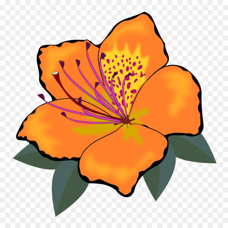 Download Flower Clipart Flower Clip Art Flowerhibiscus Clipart