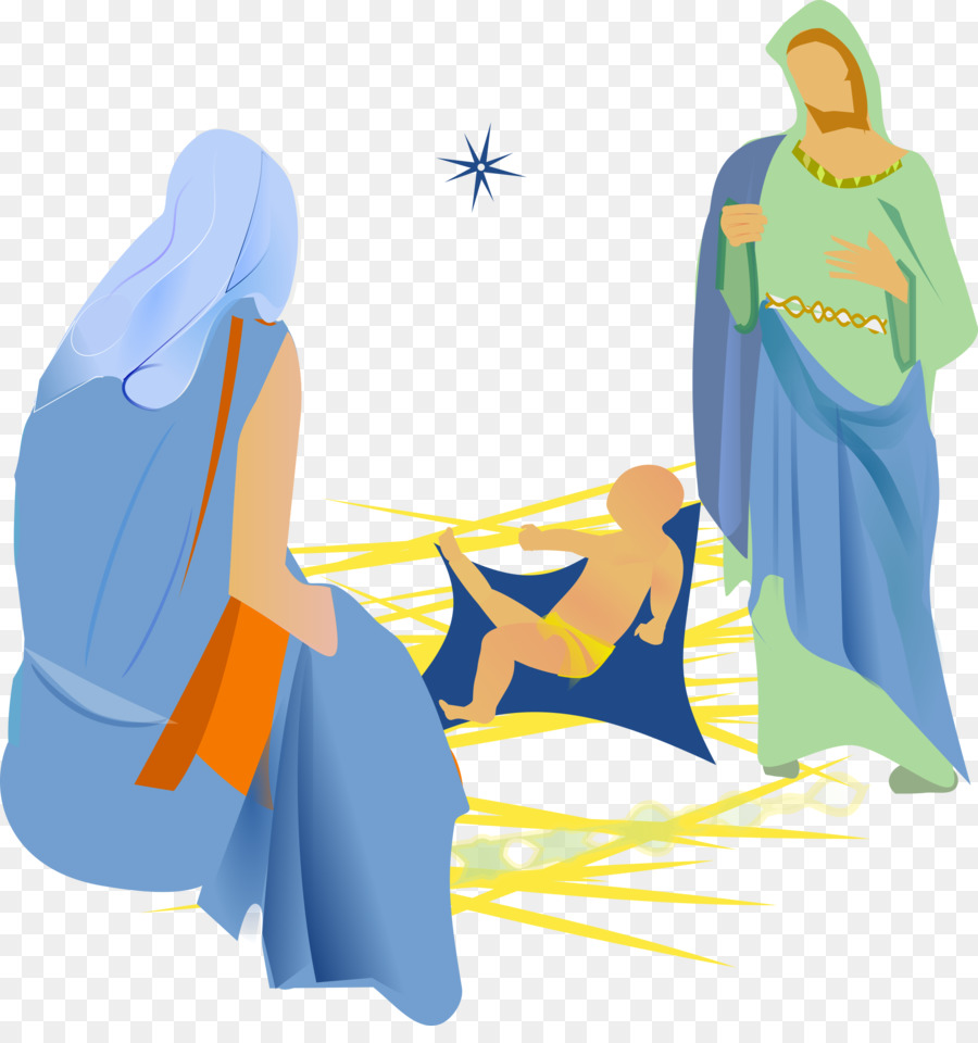 Christmas Christian Clipart.Christmas Tree Blue Clipart Bible Clothing Transparent