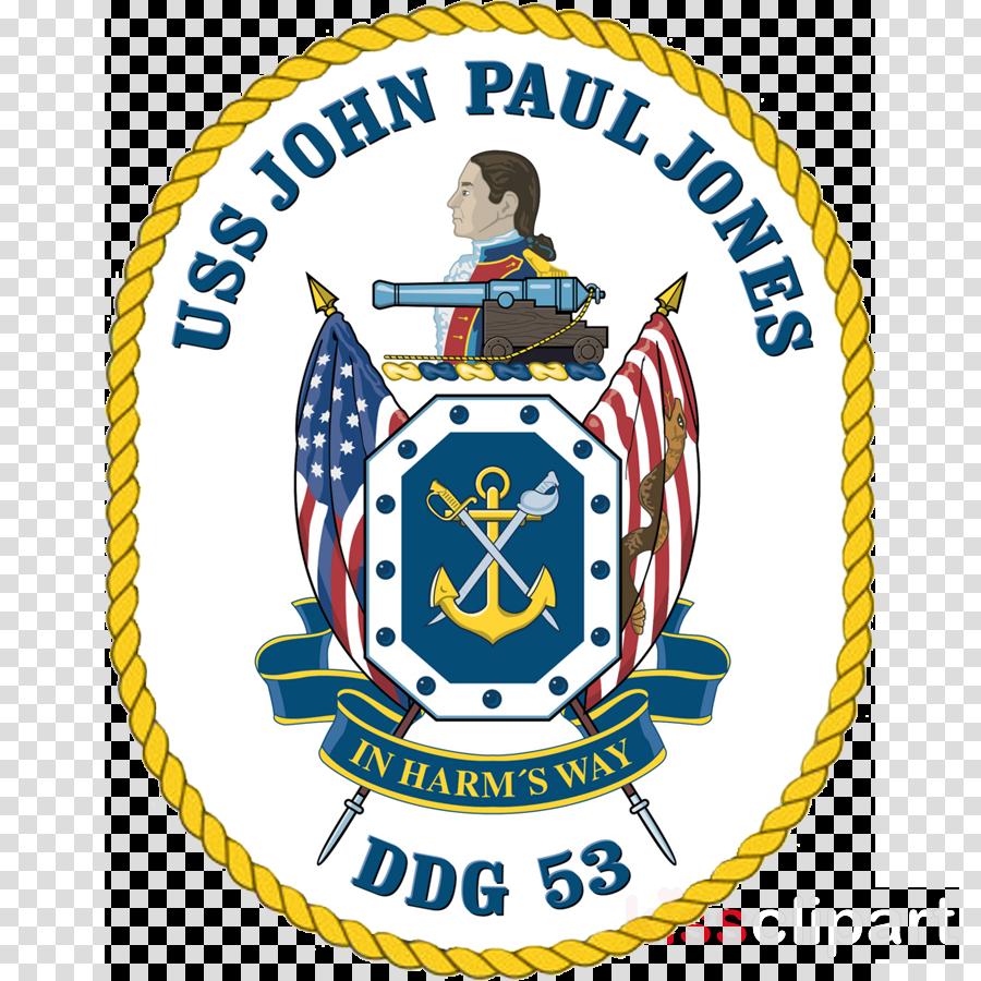uss john paul jones crest clipart Arleigh Burke-class destroyer USS John Paul Jones (DDG-53) United States Navy