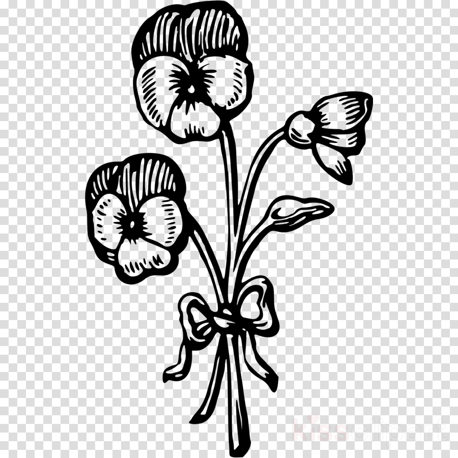 monochrome photography clipart Floral design Clip art
