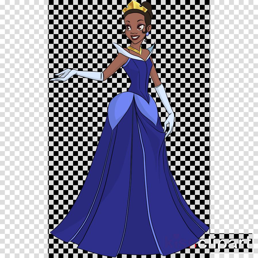 disney princess tiana blue dress clipart Tiana The Princess and the Frog Cinderella