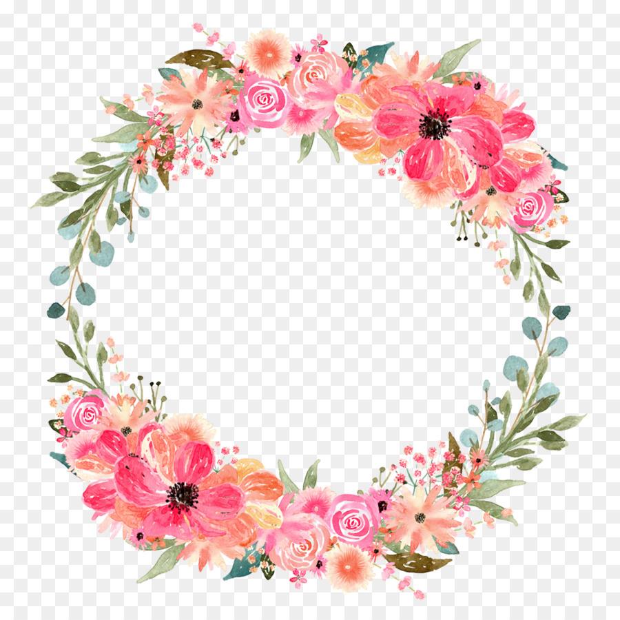 Download Pink Flower Circle Png Clipart Floral Design Flower Clip