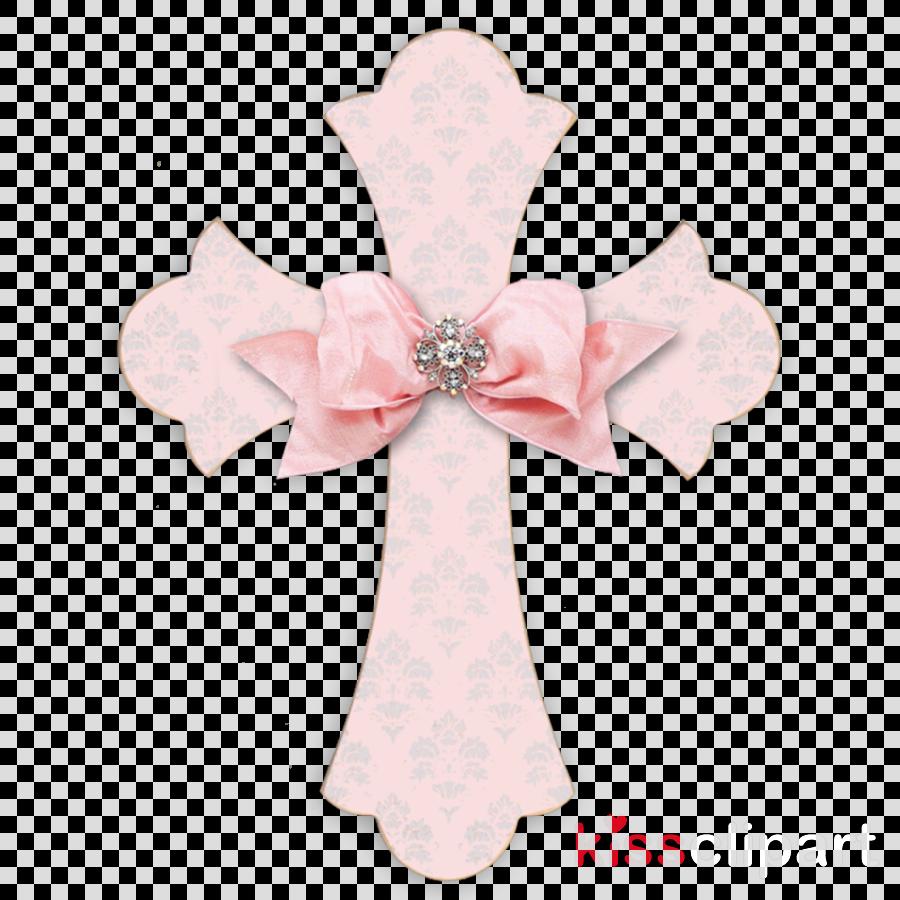 cross clipart Pink M Ribbon