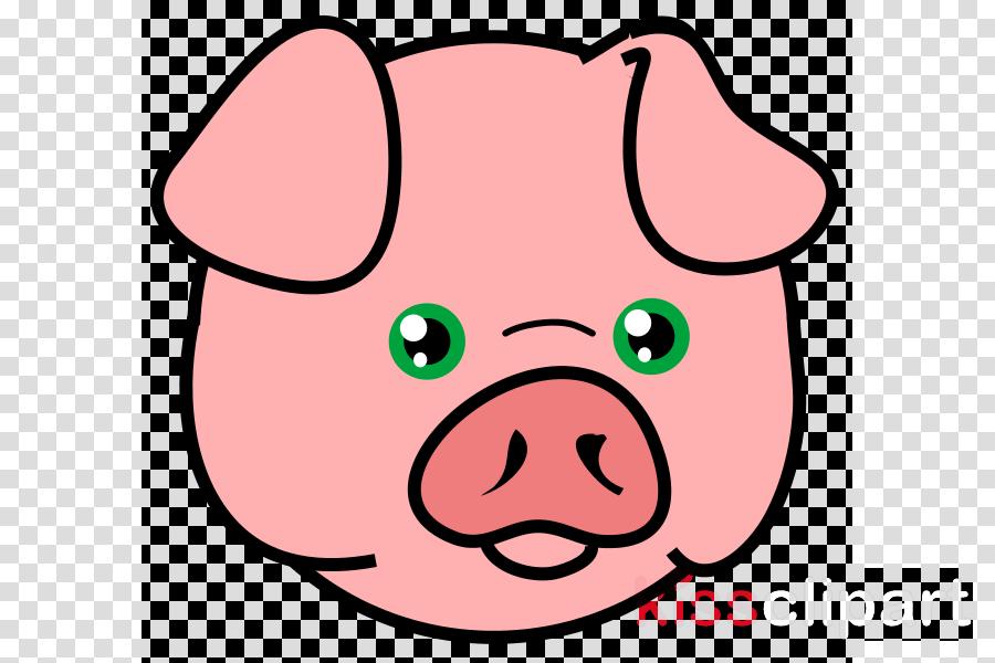 pig head png clipart Domestic pig Clip art