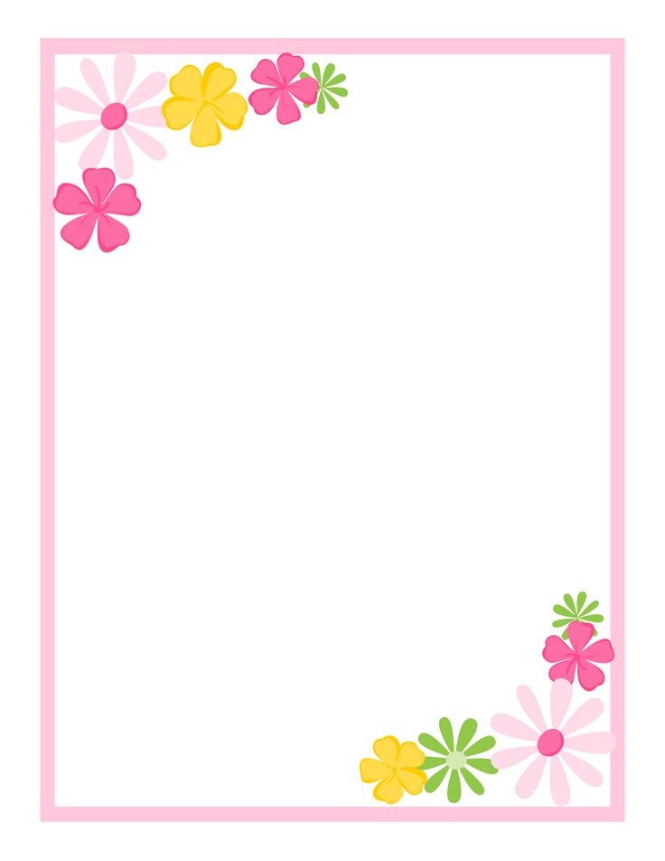 School Project Simple Border Design For A4 Size Paper