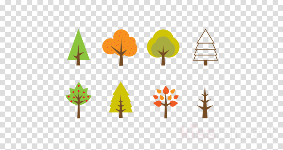 minimalist tree vector clipart Tree Clip art
