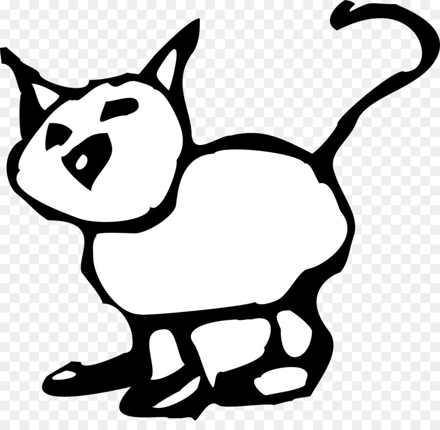 Download 100+  Gambar Kucing Kartun Hitam Terlihat Keren Gratis