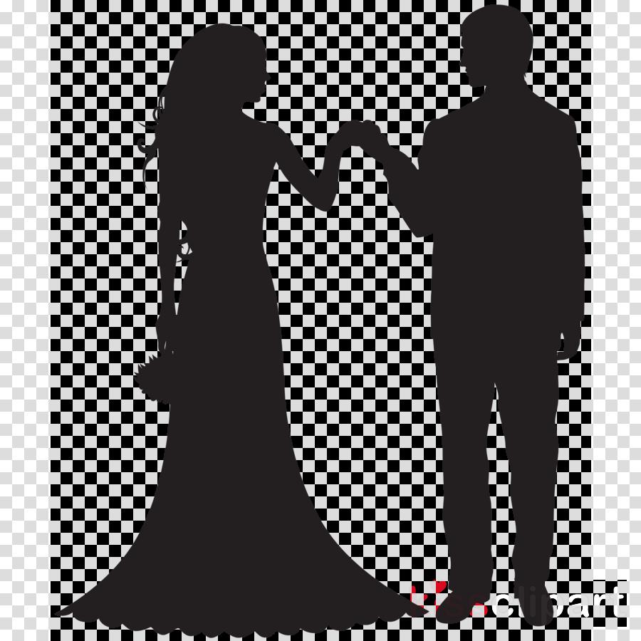 bride and groom silhouette clipart Bridegroom Clip art