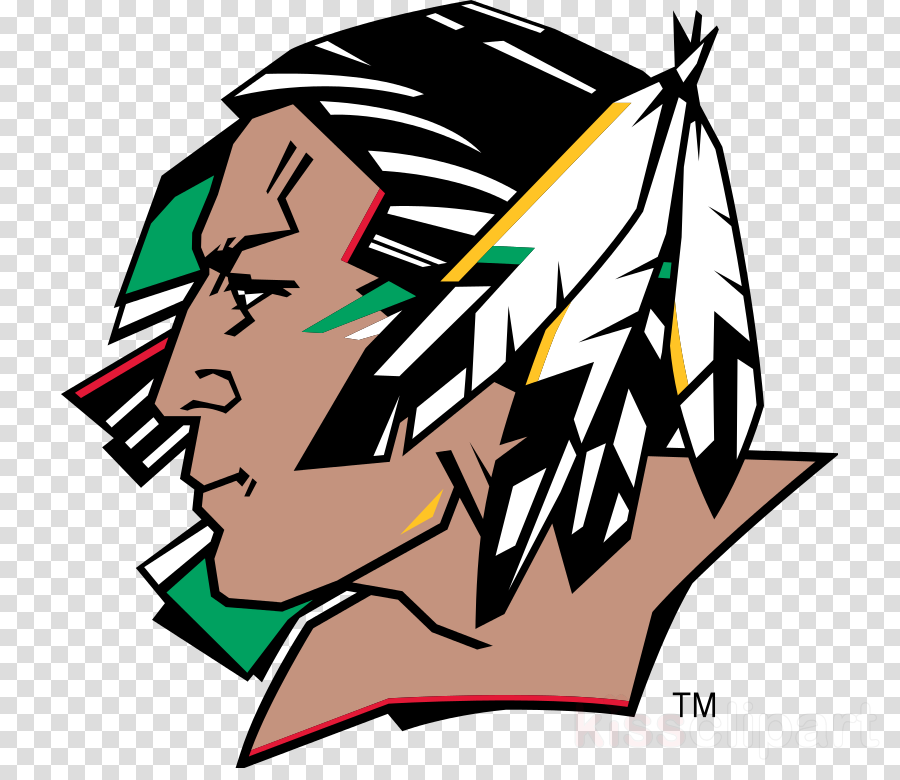 fighting sioux clipart University of North Dakota North Dakota Fighting Hawks football North Dakota Fighting Hawks women's basketball