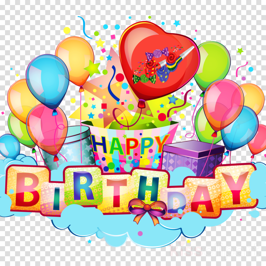 Happy Birthday Celebration Clipart Party Greeting Note Cards