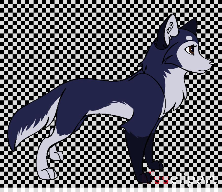 husky cartoon clipart Siberian Husky Coyote Clip art