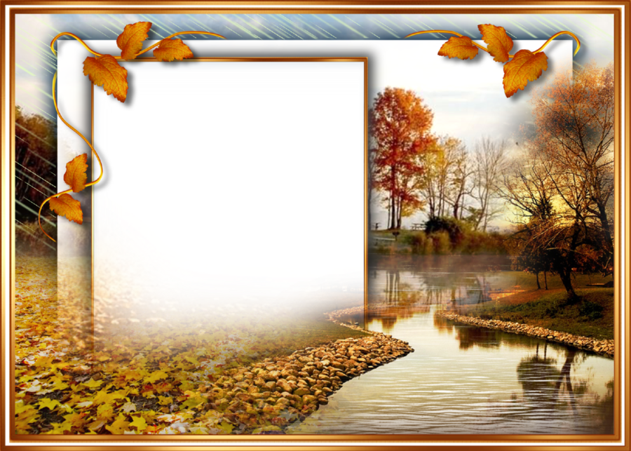 Autumn Background Autumn Frame clipart - Autumn, transparent