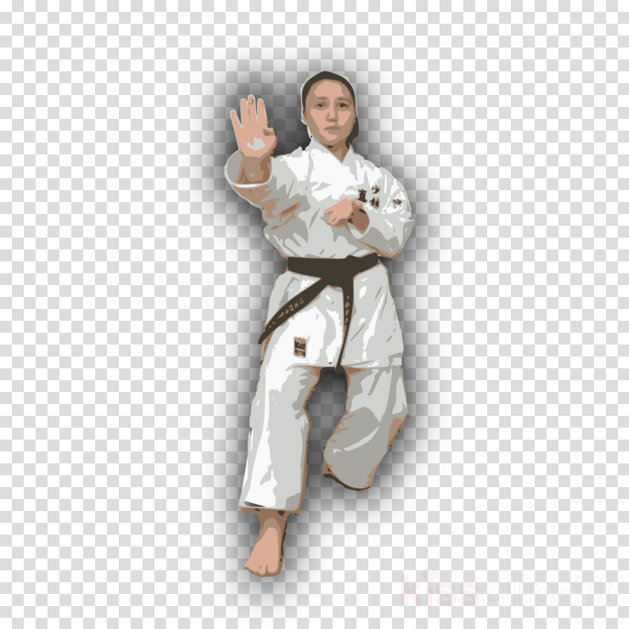 Dobok clipart Karate Dobok Taekwondo