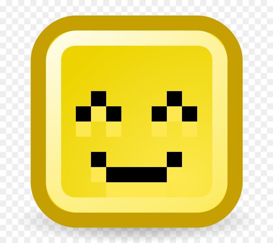Pixel Art Smiley Clipart Emoticon Rectangle Transparent