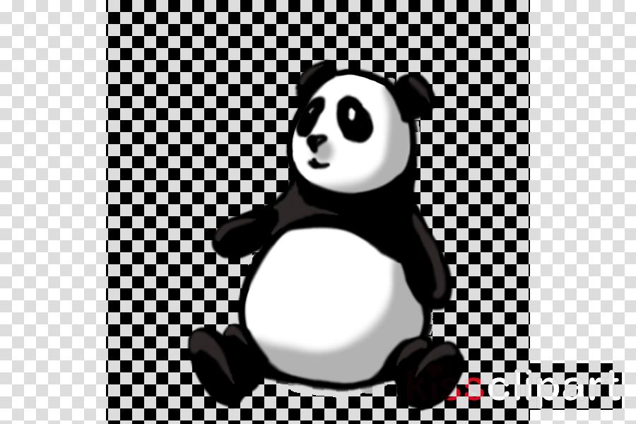 Giant panda clipart Giant panda Drawing Clip art