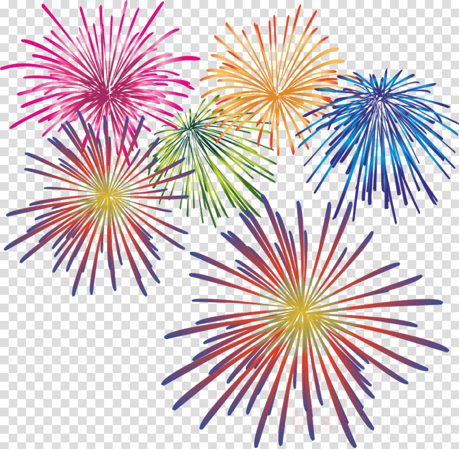 Fireworks clipart Fireworks New Year