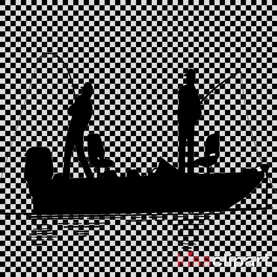 fishing silhouette clipart Bass fishing Fishing vessel Recreational fishing