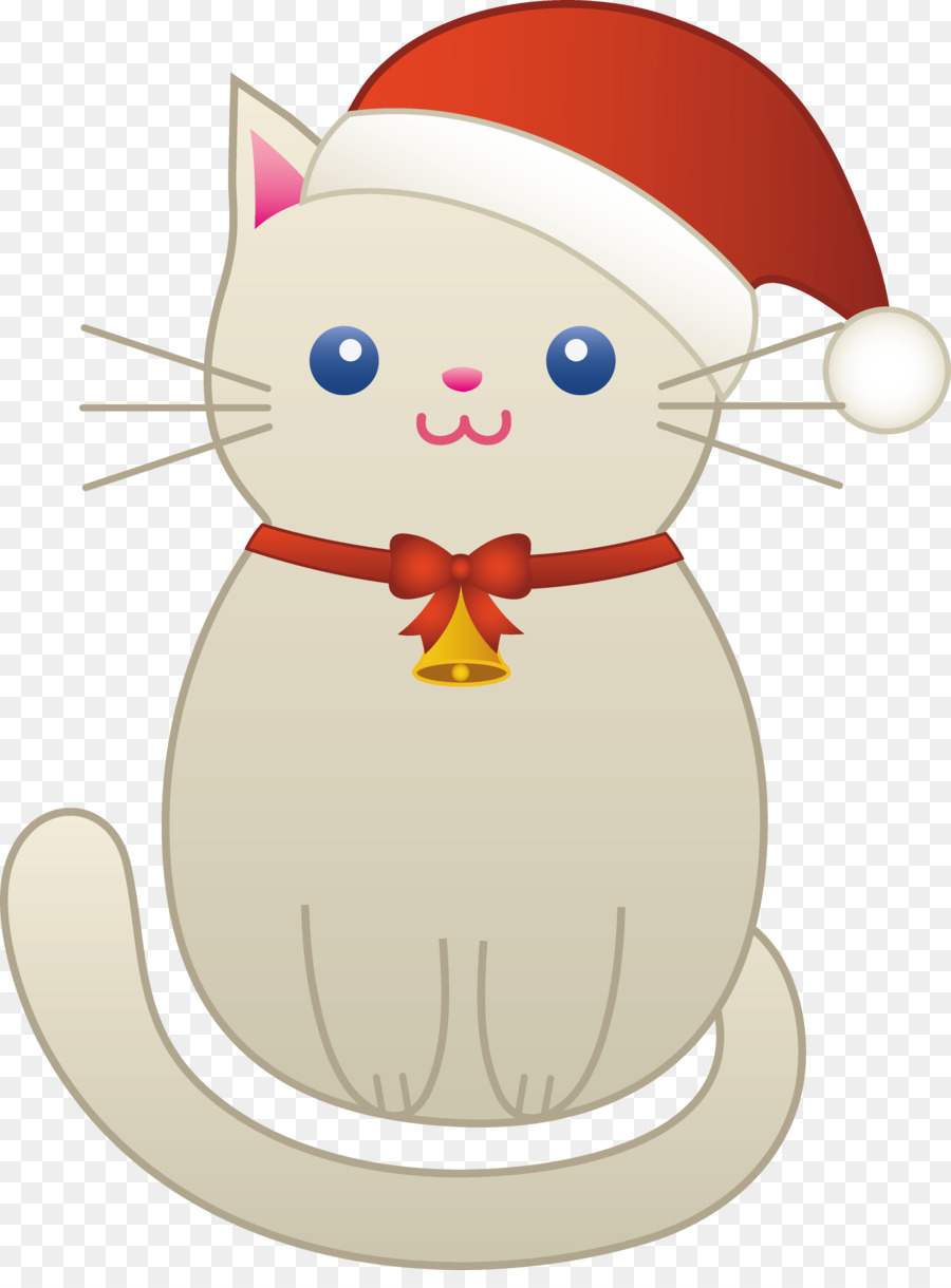 Christmas Clip Art clipart , Cat, Kitten, Christmas