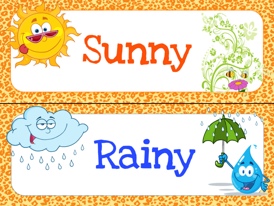 graphic regarding Free Printable Weather Chart named Bash Banner clipart - Kindergarten, Clroom, Banner