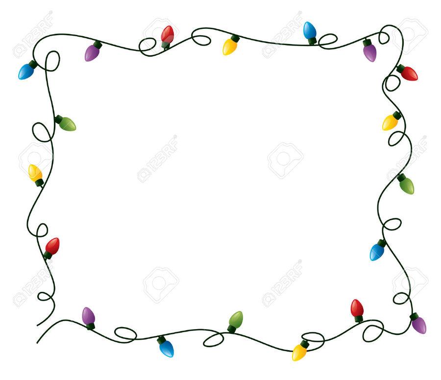 christmas light frame clipart christmas lights christmas day clip art