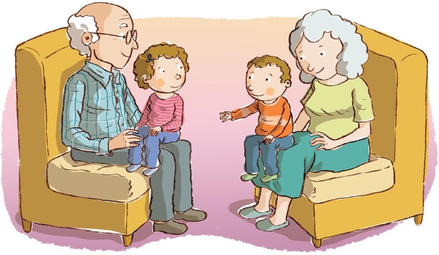 visit grandparents clipart Grandparent Clip art