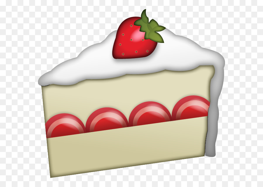 Birthday Cake Emoji clipart - Cake, Strawberry, Emoji