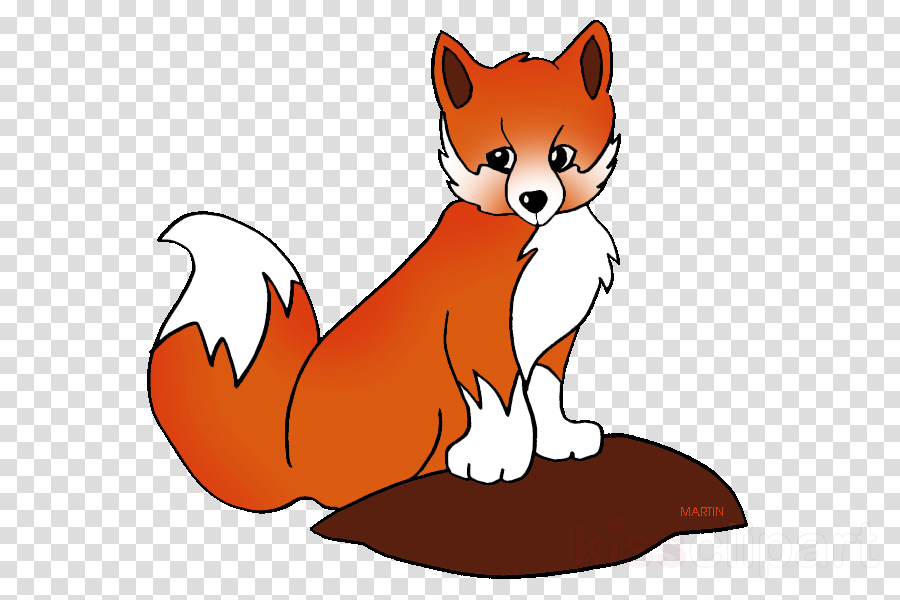 clip art of fox clipart Red fox Clip art