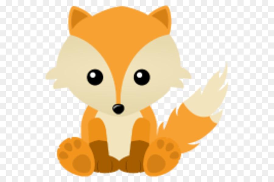 Fox cartoon. Cat clipart nose transparent