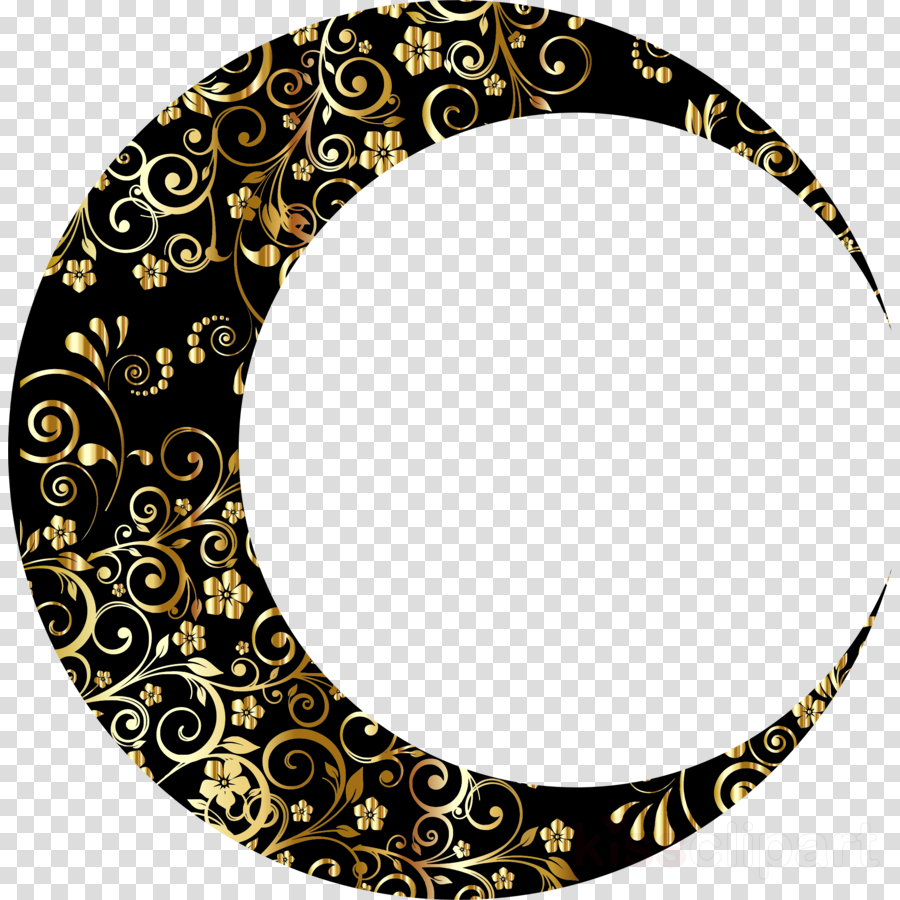 gold crescent moon png clipart Moon Clip art