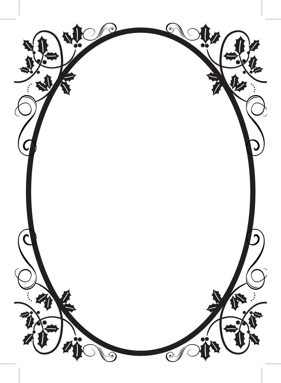 Download wedding png black and white clipart Borders and Frames ...