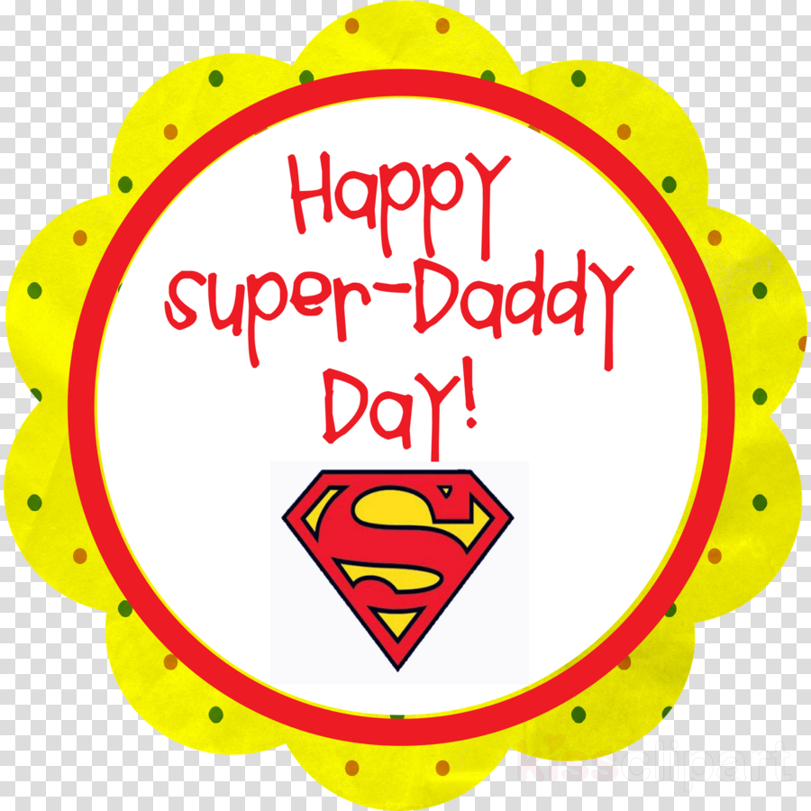happy fathers day superman clipart Father's Day Cupcake