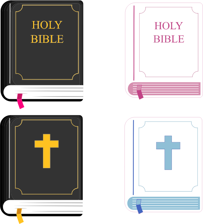holy bible clipart The Holy Bible: The New King James Version Bible Story Clip Art