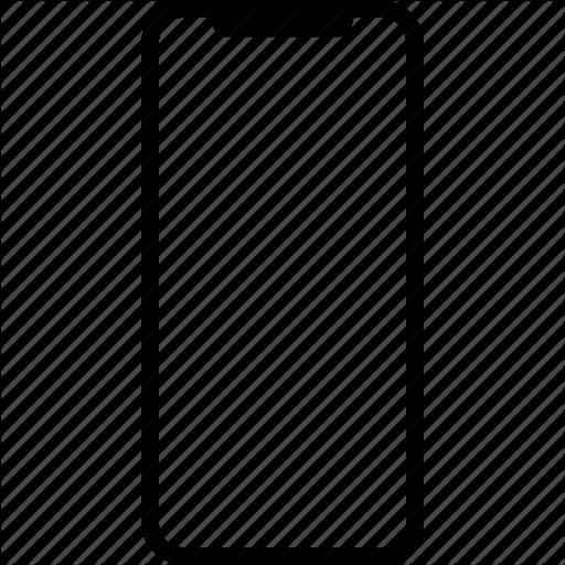 Iphone X Clipart Apple Rectangle Square Transparent