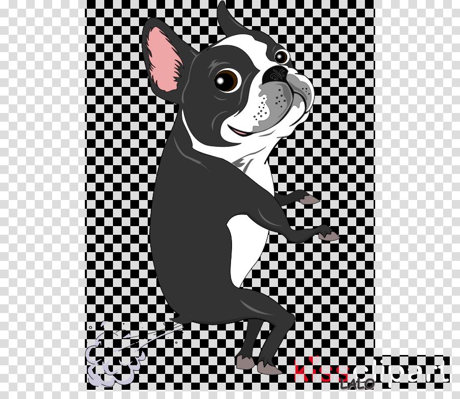 cute cartoon boston terrier clipart Boston Terrier Clip art