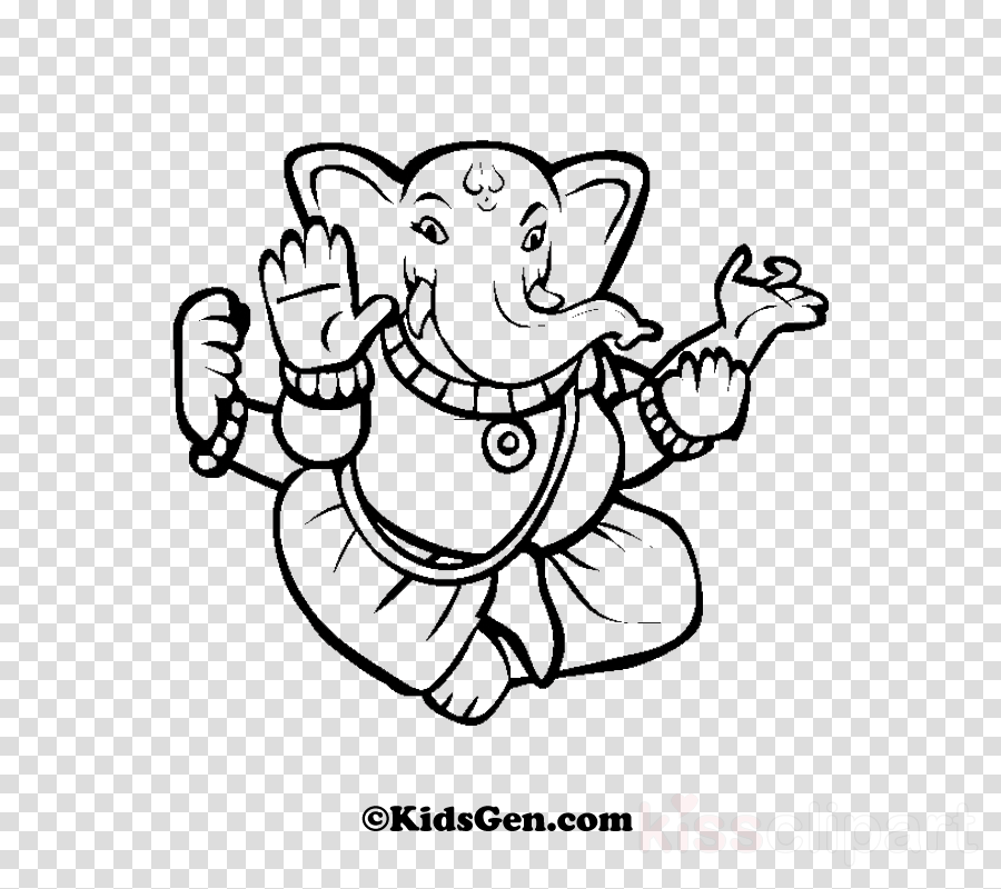ganesha coloring pages clipart Ganesha Coloring book Colouring Pages