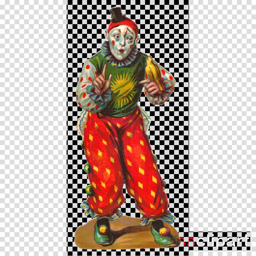 vintage circus clown clipart Circus Clown Clip art