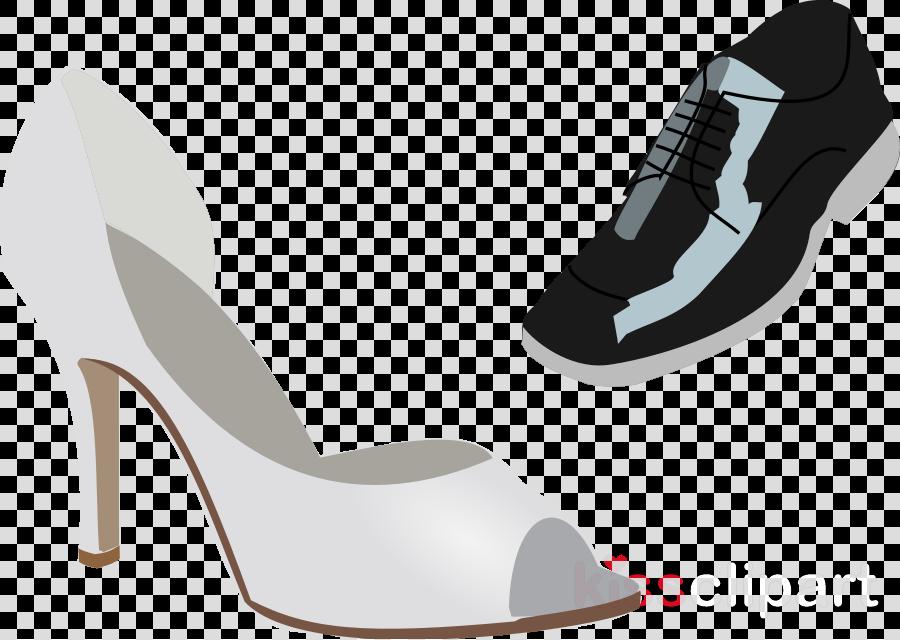wedding heels clipart High-heeled shoe Wedding dress Clip art
