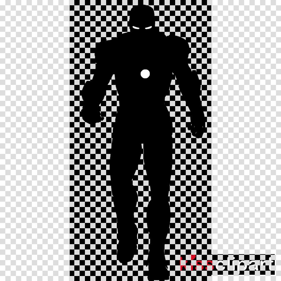 iron man black silhouette clipart Iron Man Silhouette