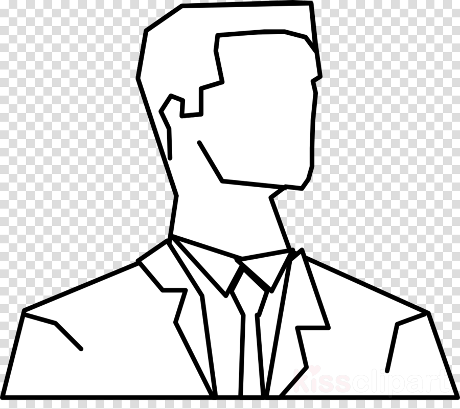 man silhouette outline clipart Drawing Clip art