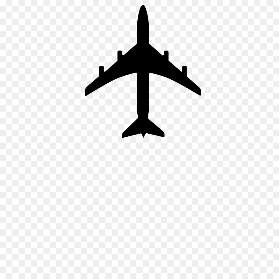 Airplane logo. Clipart transparent clip art