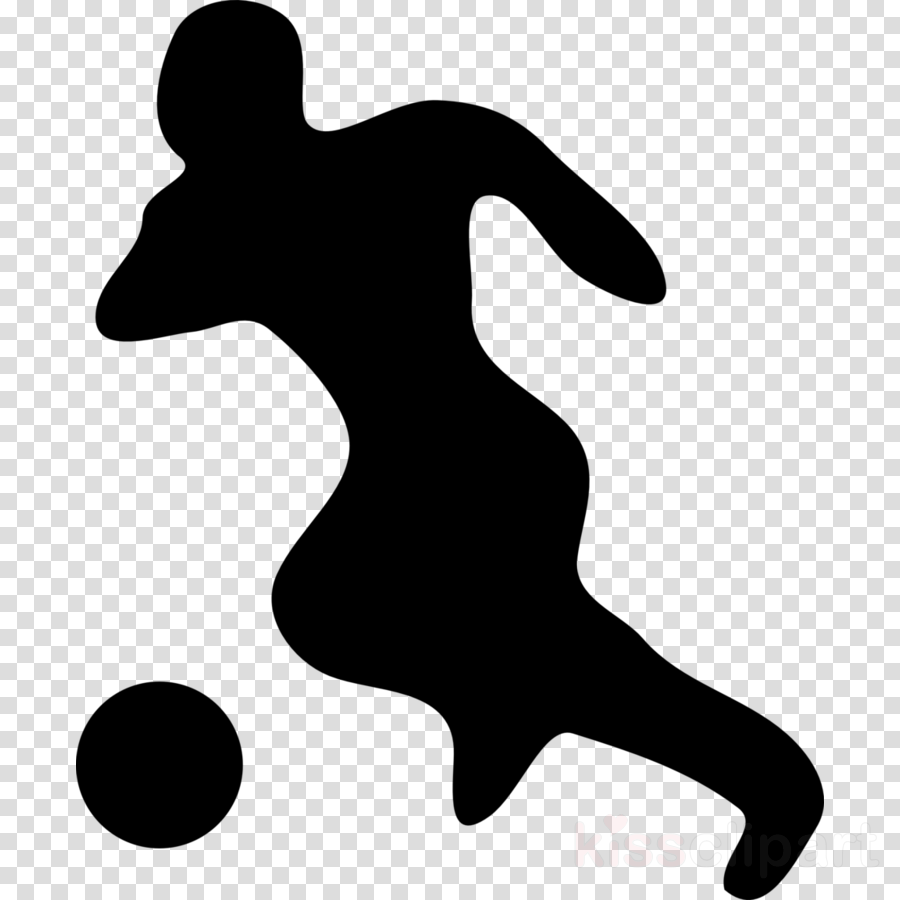 soccer player silhouette clipart Football player Clip art