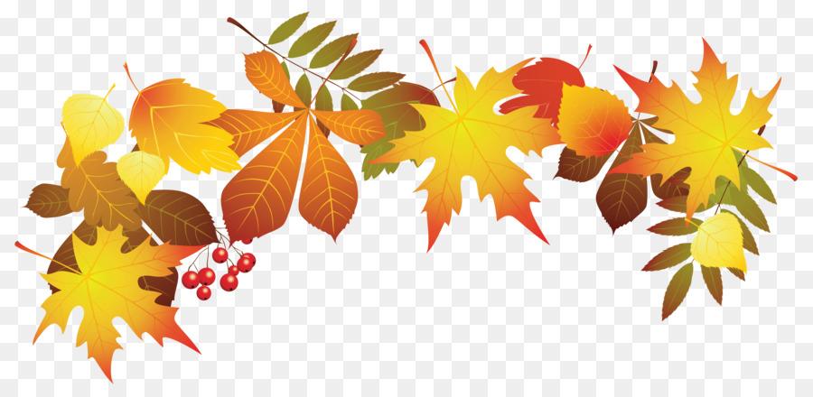 folhas de outono png clipart Clip art