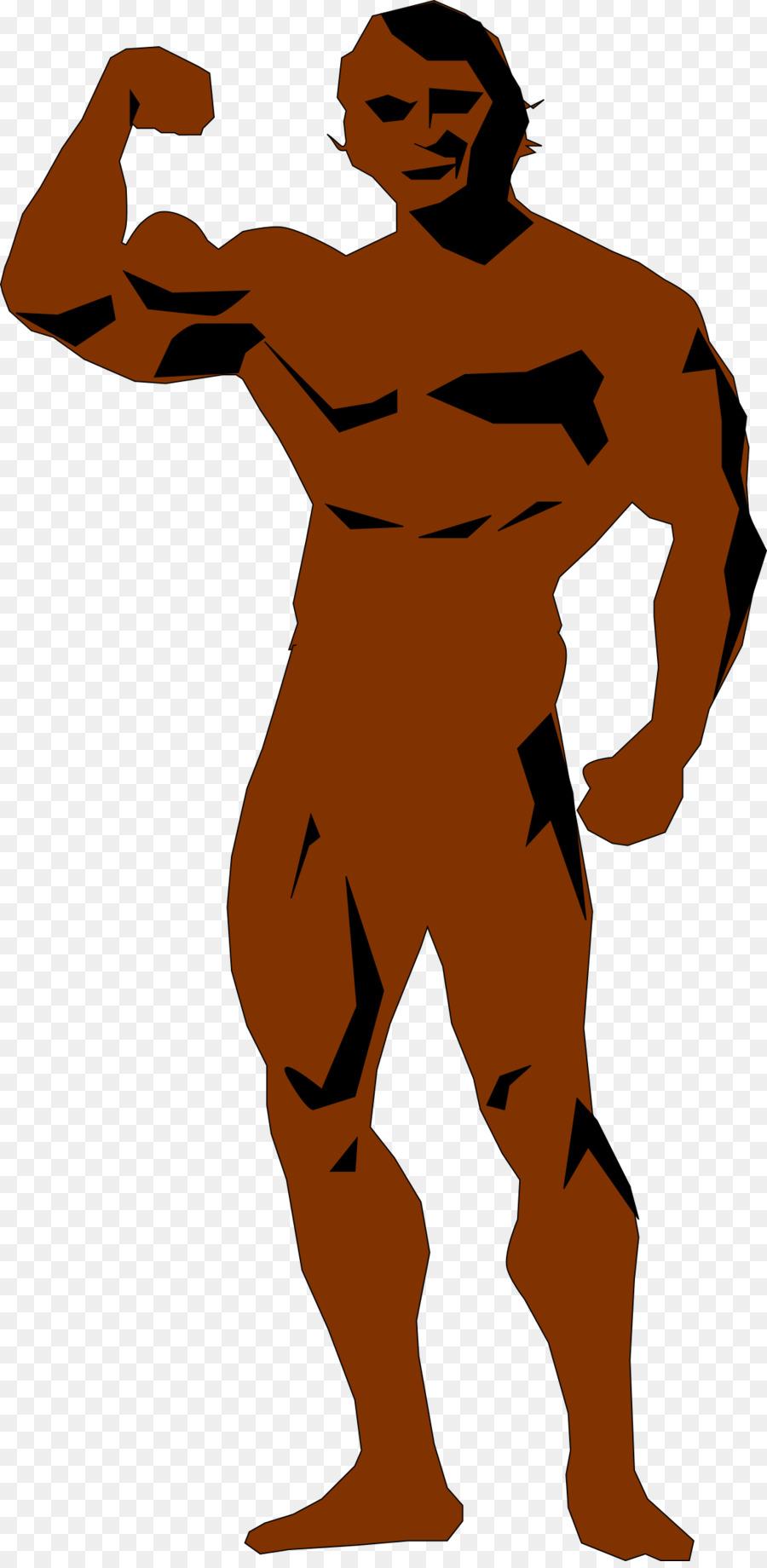 Man Cartoon Clipart Man Muscle Transparent Clip Art