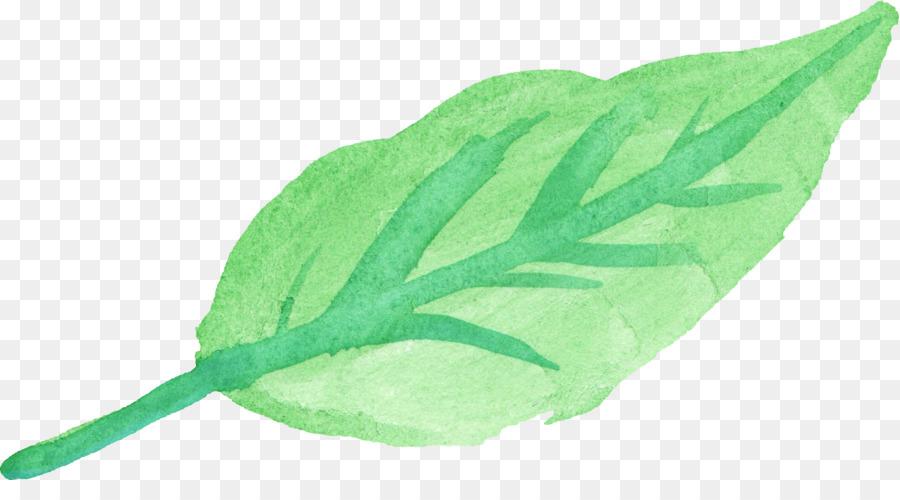 Watercolor Plant