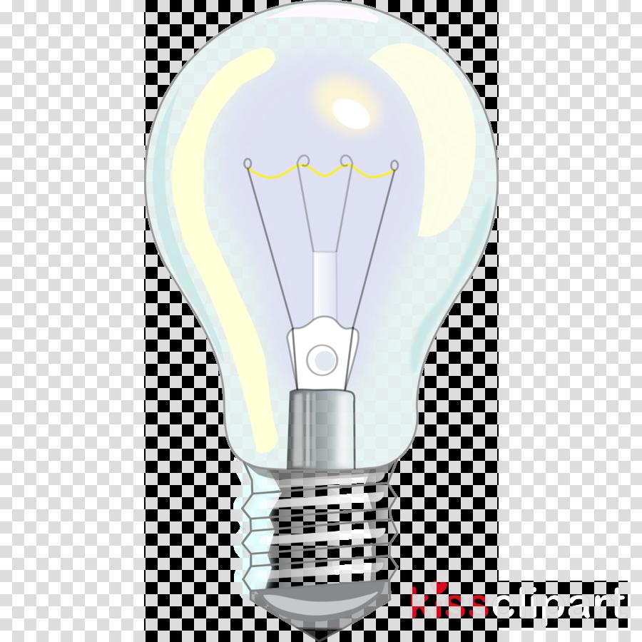 Incandescent light bulb clipart Incandescent light bulb Electric light