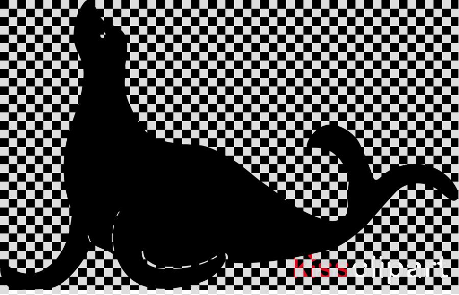 seal silhouette clipart Earless seal Sea lion Clip art