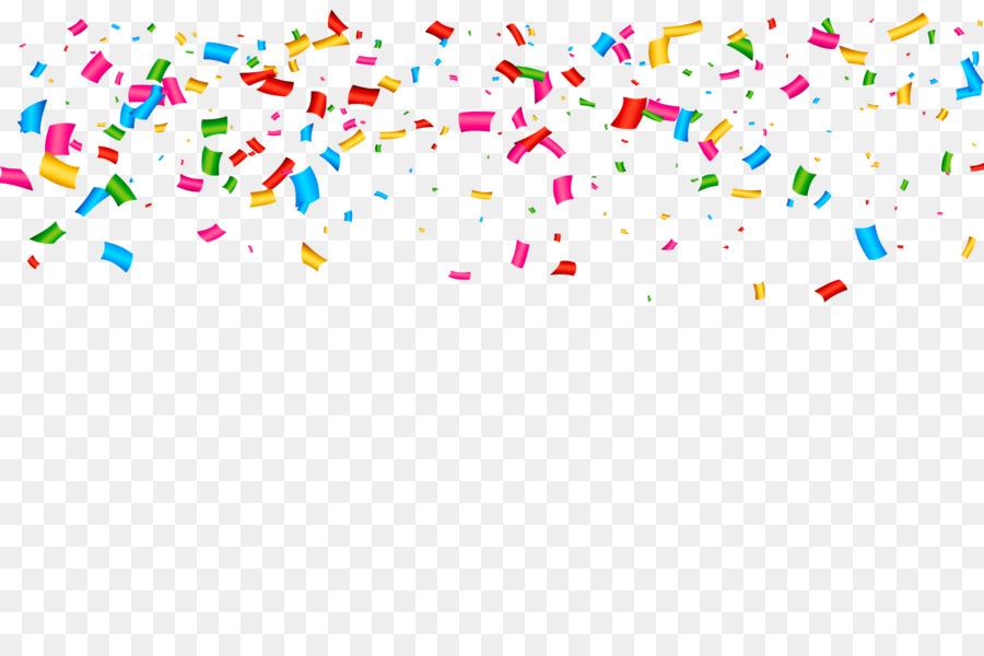 Confetti party. Popper clipart transparent clip