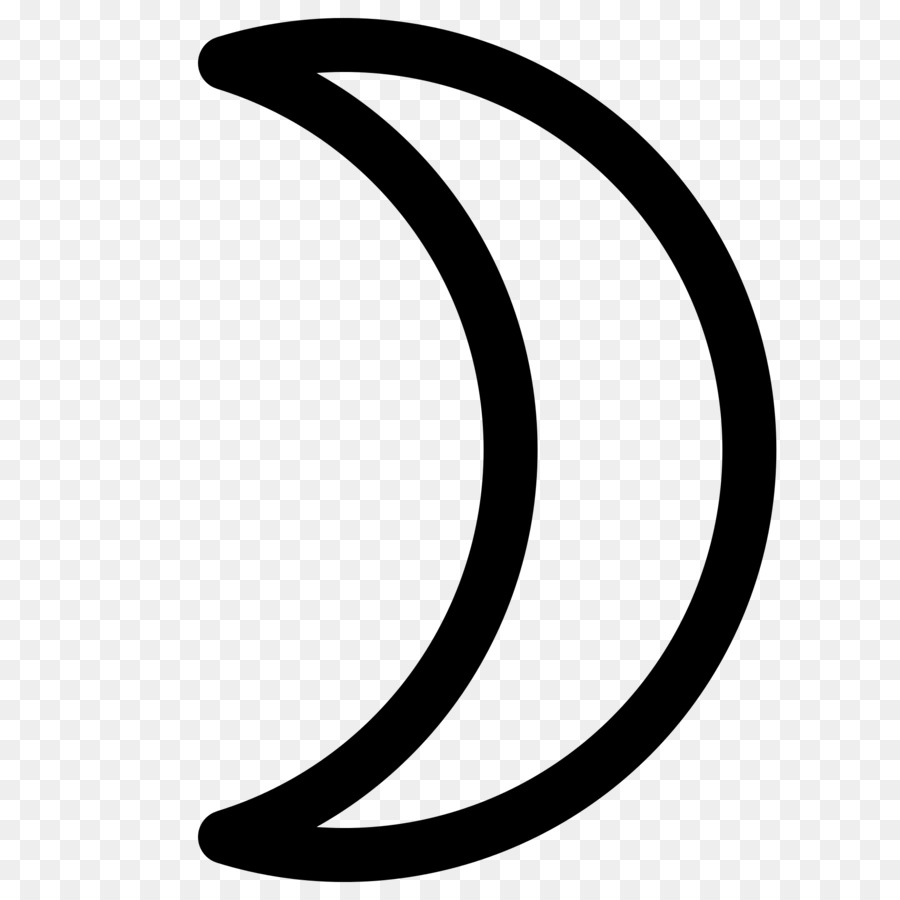 Download Moon Astrology Symbol Clipart Astrological Symbols