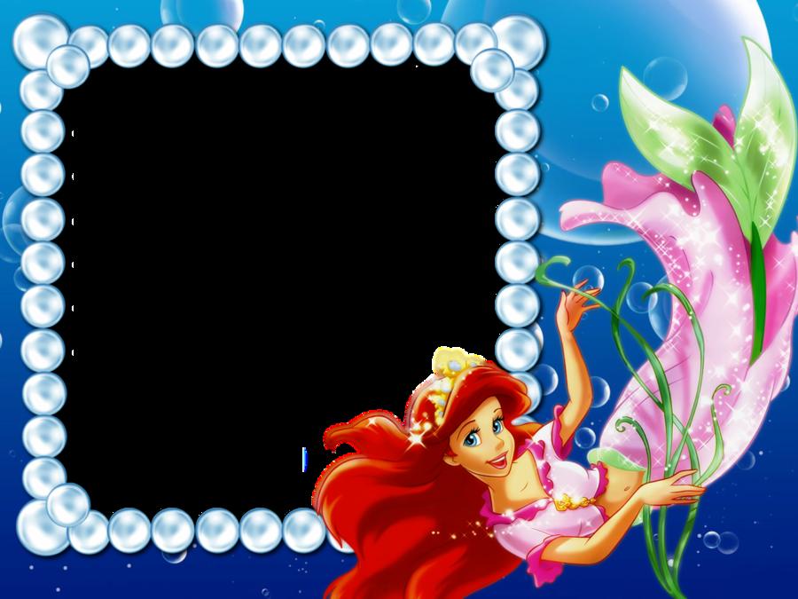 Download ariel frame clipart Ariel Picture Frames Disney Princess ...