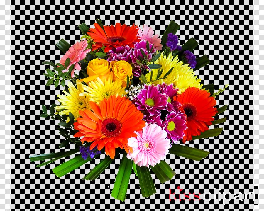 Blumenstrauss Geburtstag Clipart Happy Birthday Flowers Greeting Note Cards